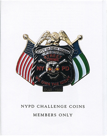 NYPD Challenge Coins: Members Only